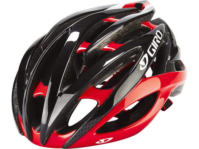 Giro Atmos II Casco, bright red/black